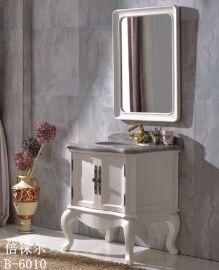 【倍徕尔】美式仿古实木浴室柜厂家