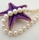 手工活外发加工珍珠项链外放代理加盟