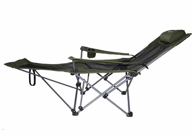 伯顺S6013 户外便携折叠床 办公学习午休午睡钢管椅