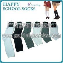 天路仕学生袜 纯棉袜子 外贸学生袜
