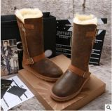 一件代發 皮毛一體高筒冬季雪地靴 爆裂紋女靴正品1001204