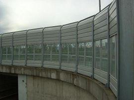 拓通桥梁声屏障金属透明板复合型声屏障