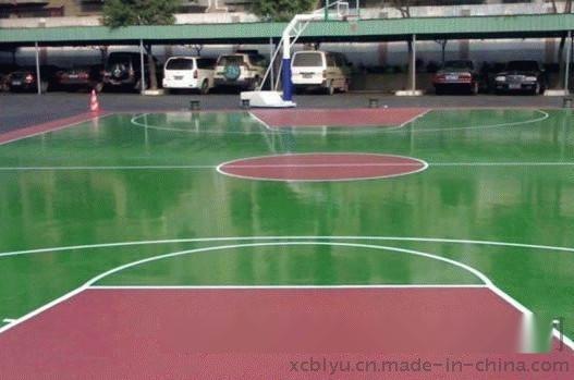 南京球场硅pu地坪材料及施工