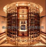 天津不鏽鋼酒櫃 金屬酒架 廠家