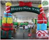 廠家批發耶誕節充氣拱門
