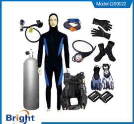 潜水服呼吸器脚蹼浮力背心生产潜水器材