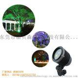 外防水插地燈、高品質園林亮化燈、LED智慧遙控鐳射草坪燈