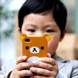 鴻藝硅膠韓國teddy泰迪熊手機殼 蘋果iphone5/5S6卡通手機保護套