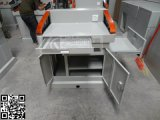 8231+定型實木扶手鋼製講臺