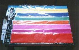彩色皱纹纸