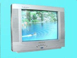 21寸彩色电视机