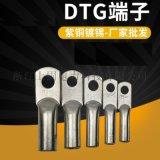 DTG铜管接线端子  铜线耳 紫铜管 加长铜端头