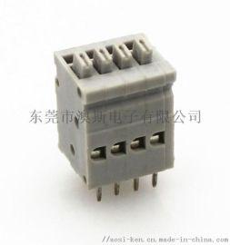 照明系统专用KF211连接器端子台2.5mm间距
