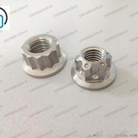 宝鸡钛工厂加工钛螺母螺帽紧固件标准件