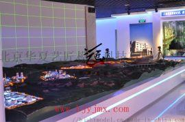 霍林河煤矿沙盘模型
