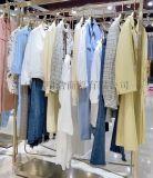 2020品牌折扣女装朗斯莉半裙视频看货