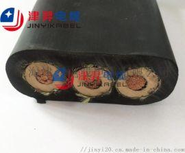 厂家直销 中高压斗轮机扁电缆 移动耐磨扁电缆