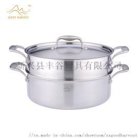 豐谷廚具伯爵系列304三層不鏽鋼蒸鍋28cm