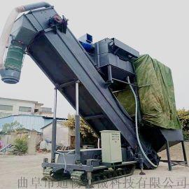 集装箱粉煤灰卸车机 环保无尘拆箱机 散水泥中转设备