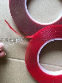 厂家直销1.0透明亚克力双面胶,强粘力双面胶