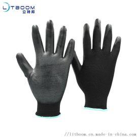 PU黑色浸掌-防靜電