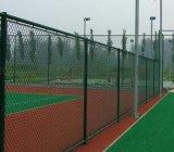 山西球場護欄,籃球場圍網,勾花網護欄,綠色圍網燈光