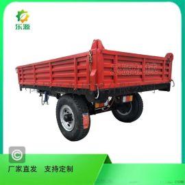 农用拖车 可定制自卸不自卸拖拉机配套拖车