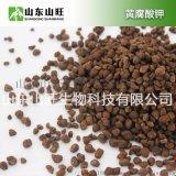 巧克力颗粒水溶肥 黄腐酸钾颗粒水溶肥 咖啡色颗粒