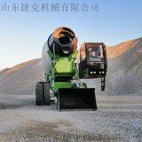工程建筑水泥运输车 5方小型自上料混凝土罐车