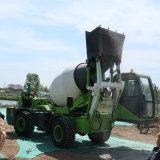 水泥混凝土攪拌車 攪拌運輸車 自上料移動攪拌車
