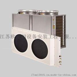 不锈钢别墅空气能热水 员工宿舍热水工程