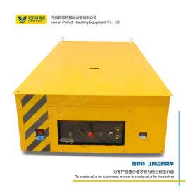 矿山机械制造车间 蓄电池供电无轨电动搬运平板车