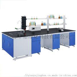 钢木实验台厂家供应上海江苏化学实验台全钢边台通风柜