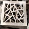 仿古木纹铝窗花运用方法 型材方管木纹铝窗花安装方法