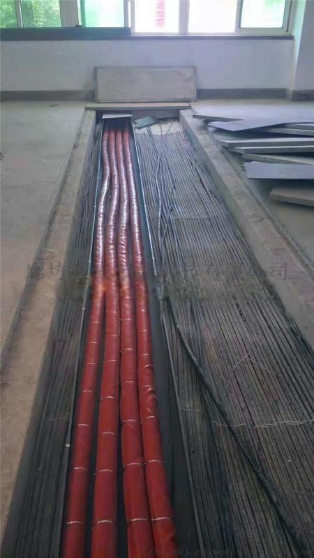 直径60mm耐高温防火套管搭扣式防火绝缘套管