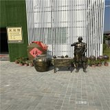 仿銅人物雕塑,玻璃鋼人物雕塑,歷史人物雕塑