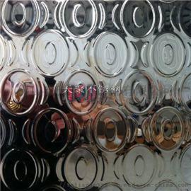 水波纹镜面装饰板 304不锈钢板彩色压花板