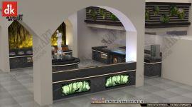 自助餐臺設計 主題餐廳裝修 布菲臺 宴會廳布置