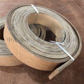 牛皮带 工业传动带 牛皮输送带耐磨皮带条10MM