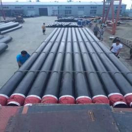 聚氨酯保温钢管 聚氨酯复合蒸汽保温管青岛
