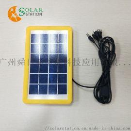 3W 6V太阳能电池板 组件 光伏板 可定制