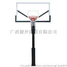 广西南宁地埋式篮球架生产厂家