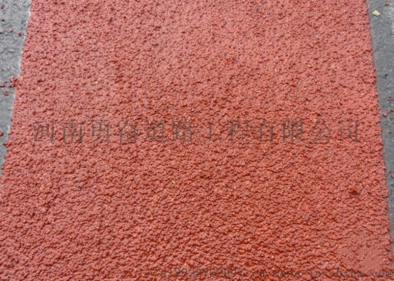 聚合物路面刮图改色砂浆材料