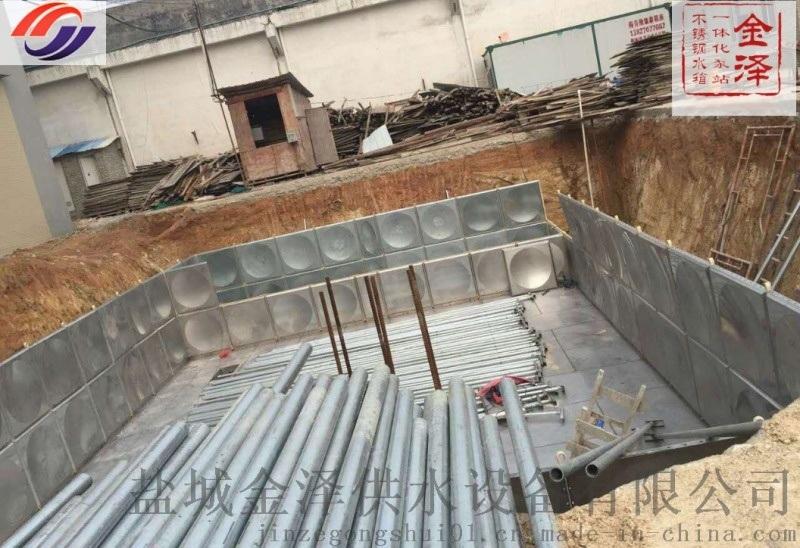 陝西西安地埋箱泵一體化包安裝包驗收