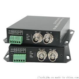 智勇3G-SDI光端机1080P无损高清HD-SDI转光纤延长器