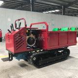 全地形短途手推式搬运车报价农用柴油小型履带式运输车