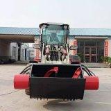 透水混凝土搅拌铲车 搅拌斗装载机 铲车搅拌机厂家