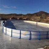 PE防撞冰球场围栏使用案例