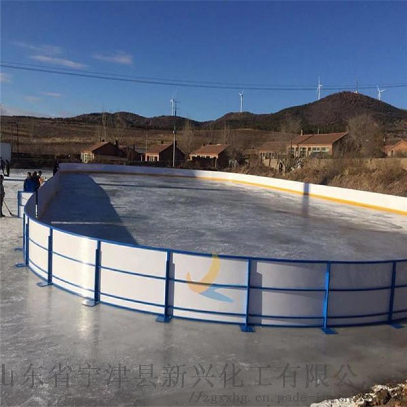 PE防撞冰球場圍欄使用案例