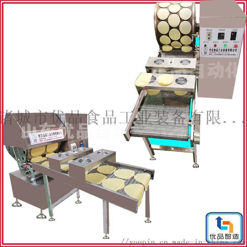 新型春卷皮机、燃气烤鸭饼、优品直供卷饼机